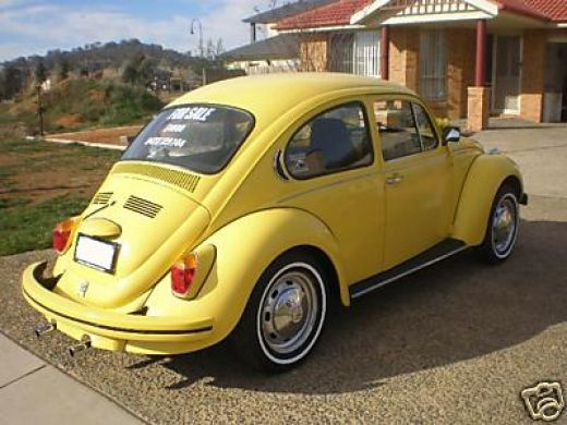 Volkswagen Beetle Old