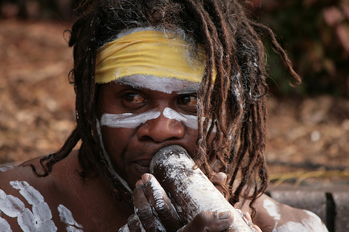 The Australian aborigine, when in his environment is perfectly adapted thereto. The aboriginal can live in a harsh environment and find enough to eat, while the civilized counterpart would quickly die, even though they ate the same diet as the Aborig