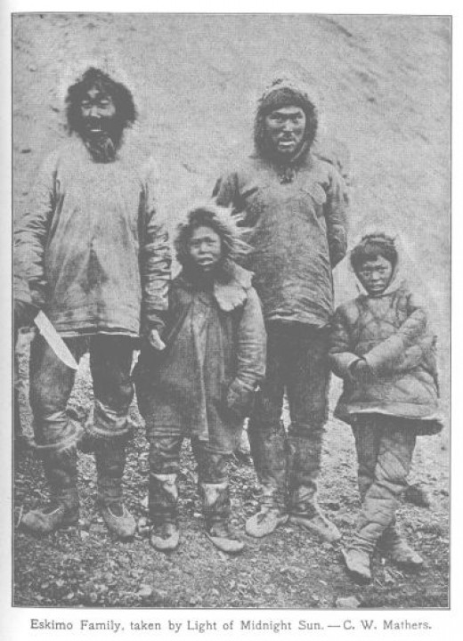 At the other extreme, is the wild Eskimo or Inuit that live well in frozen wastelands provided they are left alone. They have developed their own tools, engineering and art.