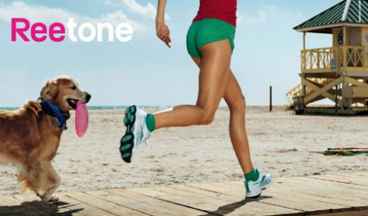 Toning shoes for running and jogging with the Reebok RunTone