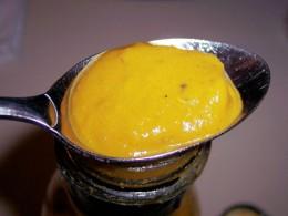 mustard paste or sauce