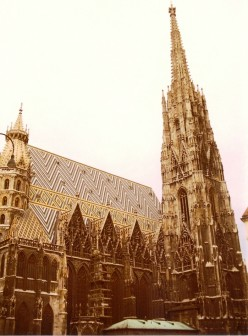 St. Stephan's, or Stephansdom, Vienna's mother church.