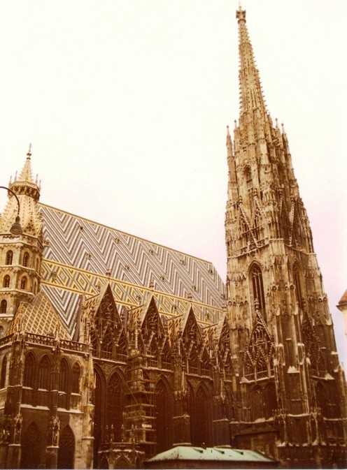 St. Stephan's, or Stephansdom, Vienna's mother church.