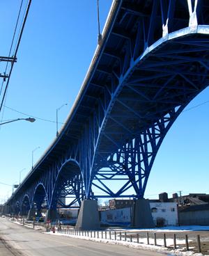 The Main Avenue Bridge, Cleveland, Ohio