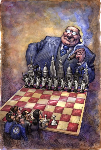 Wall Street Bankster