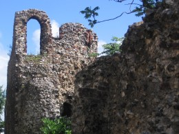 Ruins of the old city wall