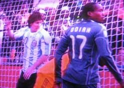 FIFA World Cup 2010 Argentina V/s Nigeria