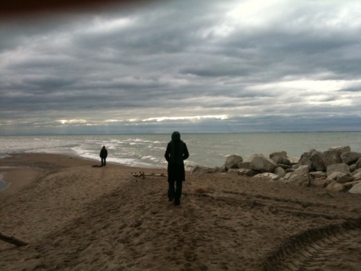 Pointe Pelee at Thanksgiving. Photo by John McBride.