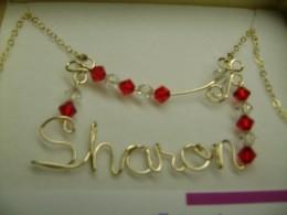 Sharon name pendant