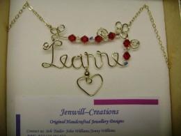 Leanne name pendant