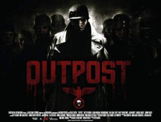 Film review of outpost.    Image source - Forbiddenplanet.co.uk