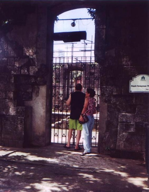 Fort Santiago, Intramuros--memory of rhe past, reminders of the present.