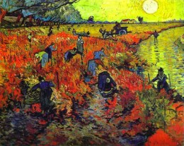 Red Vineyard at Arles is the only painting that Vincent Van Gogh sold during his lifetime