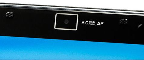 A typical laptop webcam