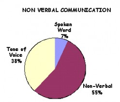 Public Speaking and Communications - Great Examples of Non-Verbal Behavior