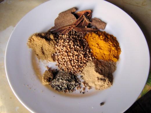 Its the spices that make a tajine.