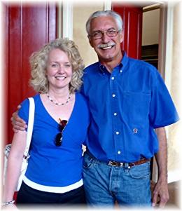 My friend Lisa and Kenneth Wilkinson