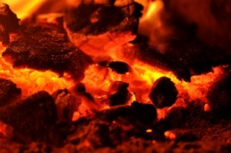 There's nothing quite like the smell of hot coals.