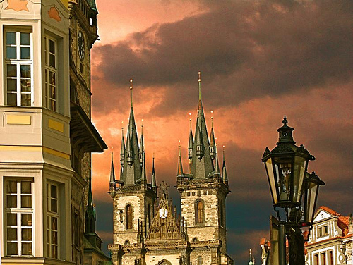 The Church of Our Lady before Tn, Prague