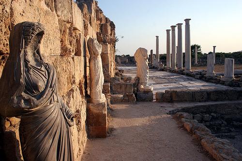 Salamis Ruins, Northern Cyprus