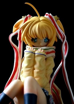 The kawaii Kamikita Komari figurine I picked up from TokyoToys a couple of years ago