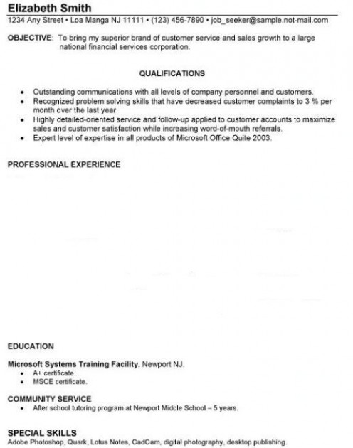 Resume Template No Experience High School Student Resume Lighteux