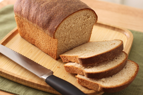 Homemade Bread photo: Emily Carlin @flickr