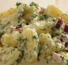 Dill and Radish Potato Salad Recipe