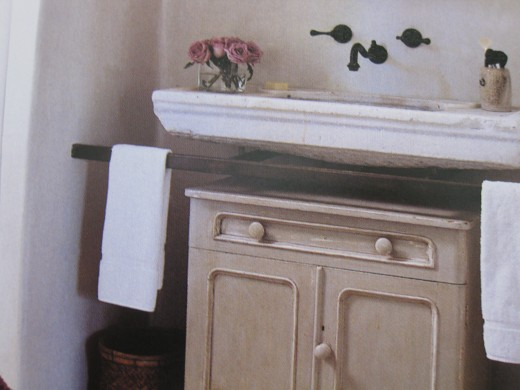 Scour salvage yards for vintage sinks.