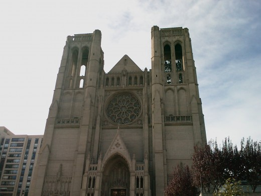 Grace Cathedral.