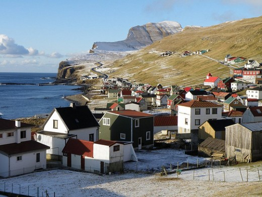 Sumba, A Village In The Faroe Islands