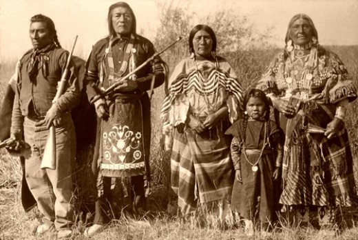 Native Americians of Wisconsin.