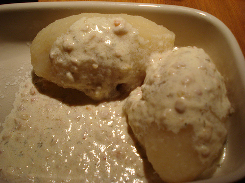 Zeppelini - Traditional Lithuanian Food