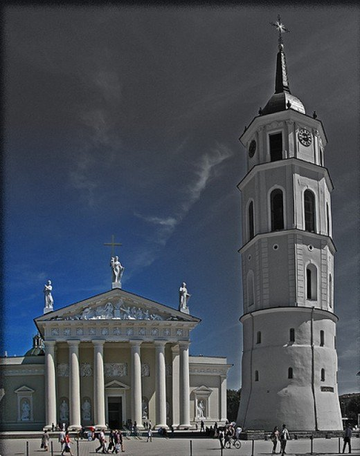 The Cathedral of Vilnius, Lithuania