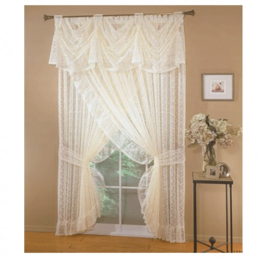 Country Ruffled Curtains & Priscilla Curtains at Delores' Ruffles