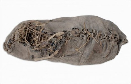 The worlds oldest shoe. For over 5500 years man has been getting it all wrong