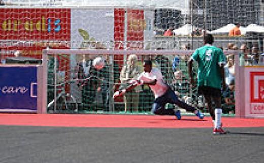 HOMELESS WORLD CUP 2007 IN COPENHAGEN DENMARK