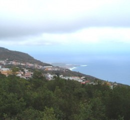View over coast from El Tanque