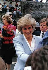 Princess Diana suffered from depression.
