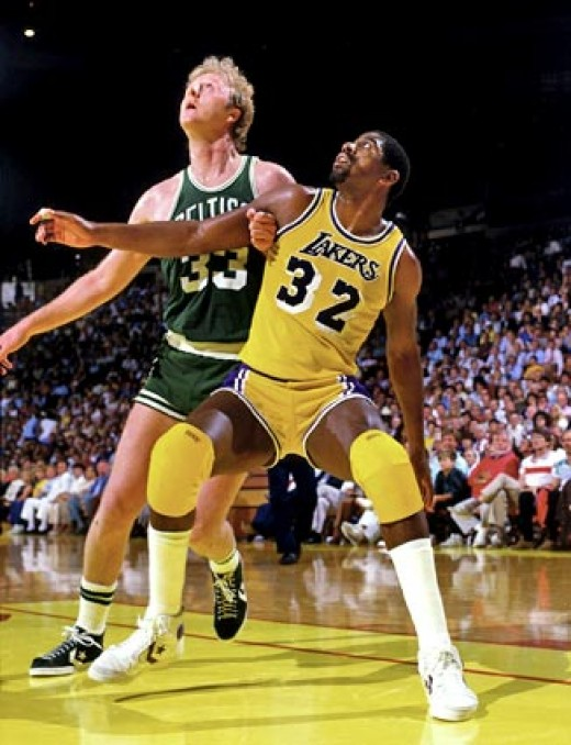 The Celtics/Lakers rivalry has included some of basketball's greatest players