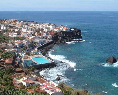 View over Las Aguas