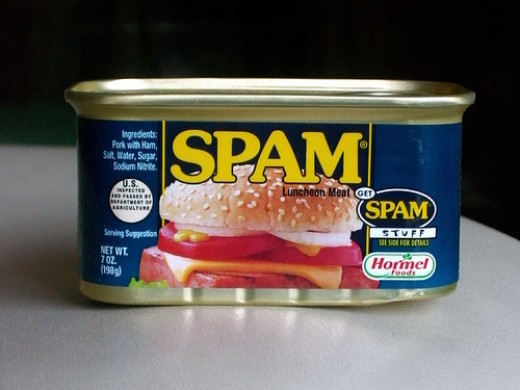 Can of Spam photo: janetgalore @flickr