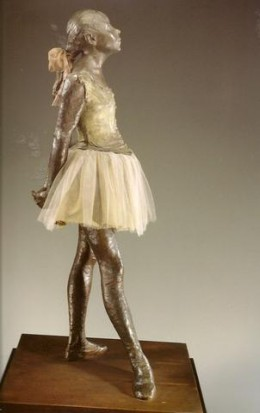 Of the many sculptures that Degas created, The Little Dancer is the most well known