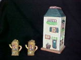 These are a sampling of the various sizes of miniature houses