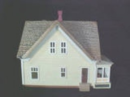 This is a miniature prairie house example