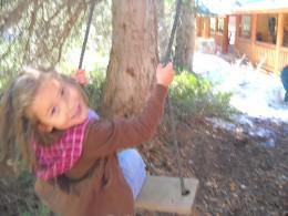 Grandkids loved the swing