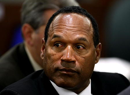In another travesty of justice, OJ Simpson was given a conditional release, was seen as responsible for the deaths of his wife and her new boyfriend, while not being actually guilty of cold blooded murder. Police were filmed in a bizarre slow speed c