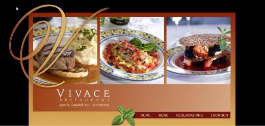 Vivace Restaurant, Tucson.