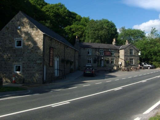 The Ladybower Inn - where many walks begin or end, or both!