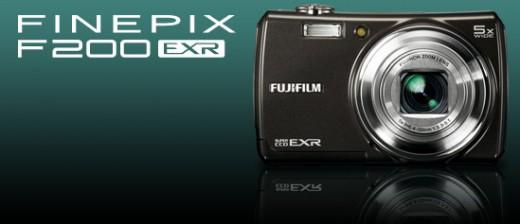 Fujifilm Finefix F200 camera